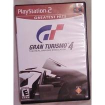 Gran Turismo 4 The Real Driving Simulator Ps2