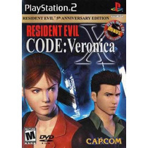 Resident Evil Code Veronica X Ps2 Ps3