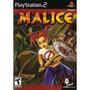 Playstation 2 Malice Nuevo Y Envio Inmediato