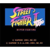 Super Nintendo Street Figther 2 Turbo B
