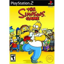 The Simpsons Game Ps2 Mannygames