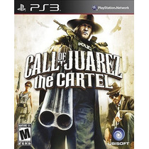 Call Of Juarez The Cartel Para Ps3 Nuevo Y Sellado Pm0 Vv4