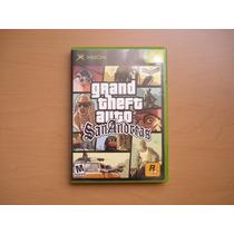 Grand Theft Auto: San Andreas Xbox Primera Edicion + Poster