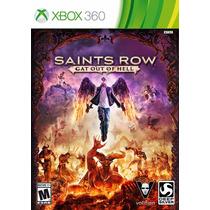 Saints Row Gat Out Of Hell Nuevo Sellado Xbox 360
