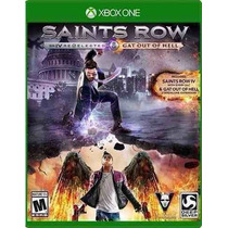Saints Row Iv: Re-elected + Gat Out Of Hell Xbox One Sellado