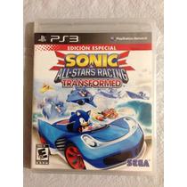 Sonic All Stars Racing Transformed Ps3 Sellado Original