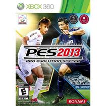 Xbox 360 Pro Evolution Soccer 2013 (mercado Pago Y Oxxo)