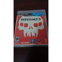 Vendo Resistance 3 Compatible Psmove Ps3 Funcionando Al 100
