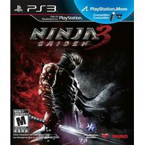 Ninja Gaiden 3 Ps3 Nuevo Sellado Original Disco Fisico