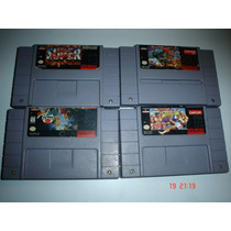 Super Nintendo Paquete Street Figther 2 Street Fighter Alpha