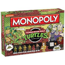 Monopolio: Edición Juego Teenage Mutant Ninja Turtles Colecc
