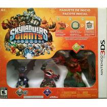 Skylanders Giants Pack De Inicio Nintendo 3ds Nuevo Sellado