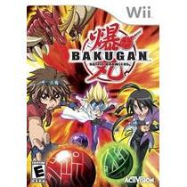 Juego Para Wii Bakugan Battle Brawlers! Nuevo