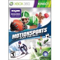 Motionsports Para Xbox 360 En Disco Usado