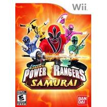 Power Rangers Samurai Wii Nuevo Citygame