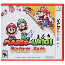 Mario & Luigi: Paper Jam - Nintendo 3ds Nuevo Blakhelmet Sp