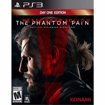 Metal Gear Solid V The Phantom Pain Day One Ed Ps3 Nuevo Vgr