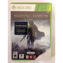 Shadow Of Mordor Xbox 360 Nuevo Sellado Original