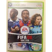 Juego Xbox 360 Fifa 08