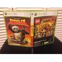 Vendo Juegos Para Xbox Indiana Jones Lego Y Kung Fu Panda