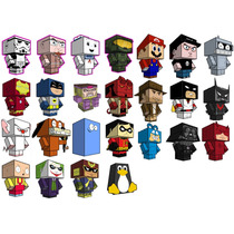 Minecraft Papercraft - Figuras Armables - (dig)