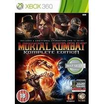Mortal Kombat Komplete Edition X360