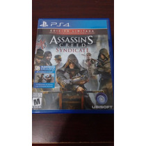 Vendo Assassins Creed Syndicate Ps4 Bien Cuidado