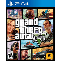 Grand Theft Auto V - Ps4 - Nuevo Envio Gratis