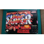 Super Street Fighter 2 Snes Super Nintendo En Caja Completo