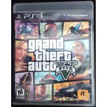 Grand Theft Auto V Para Ps3 Seminuevo En Buenas Condiciones