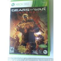 Gears Of Wars Judgment Xbox 360 Excelente Estado