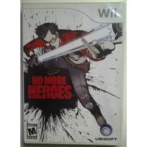 Wii No More Heroes $320 Pesos - Seminuevo - Vendo / Cambio