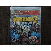 Borderlands 2 Game Of The Year Edition Goty Ps3 Nuevo Vgr