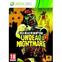 Red Dead Redemption Undead Nightmare Nuevo Sellado Xbox 360