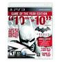 Batman: Arkham City - Edición Juego Del Año, Ps3