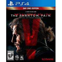 Metal Gear Solid V: The Phantom Pain Para Ps4 Original