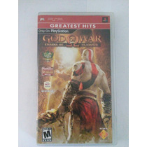 God Of War Chains Of Olympus Psp Playstation