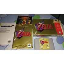 The Legend Of Zelda Ocarina Of Time N64 Completo