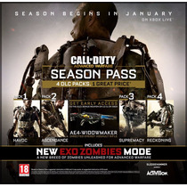 Season Pass Cod Advanced Ps3 Pakogames Digitales