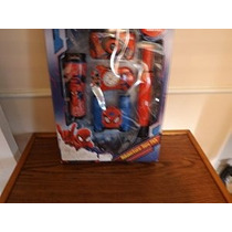 The Amazing Spider-man 5 Piezas Spy Adventure Kit Con Cámara