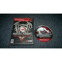 Mortal Kombat Deadly Alliance Sin Instructivo Play Station 2
