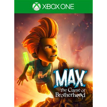 Max: The Curse Of Brotherhoo Xbox One Descargable En Codigo