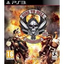Ride To Hell Retribution Sellado Playstation 3