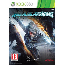 Xbox 360 Metal Gear Rising (aceptamos Mercado Pago Y Oxxo)