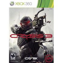 Xbox 360 Crisys 3 (acepto Mercado Pago Y Oxxo)