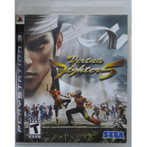 Ps3 Virtua Fighter 5 $170 Pesos Seminuevo - Vendo O Cambio