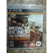 Medal Of Honor Warfighter Limited Edition Ps3 Nuevo
