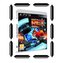Generator Rex Ps3 *nuevo *sellado Central De Videojuegos