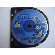 Nfl 2k Para Sega Dreamcast Original Sports Futbol Americano