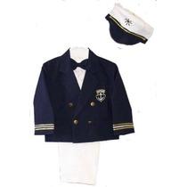 Infant Toddler Boys 5-pc Juego De Marinero Vestido Azul Blaz